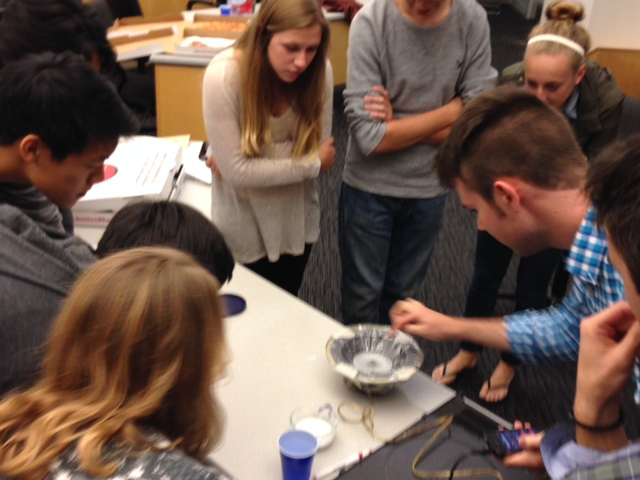 9.23.2014 – First Meeting of the Semester