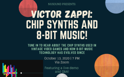 Professor Victor Zappi: Chip Synths, 8-bit Music, and More!
